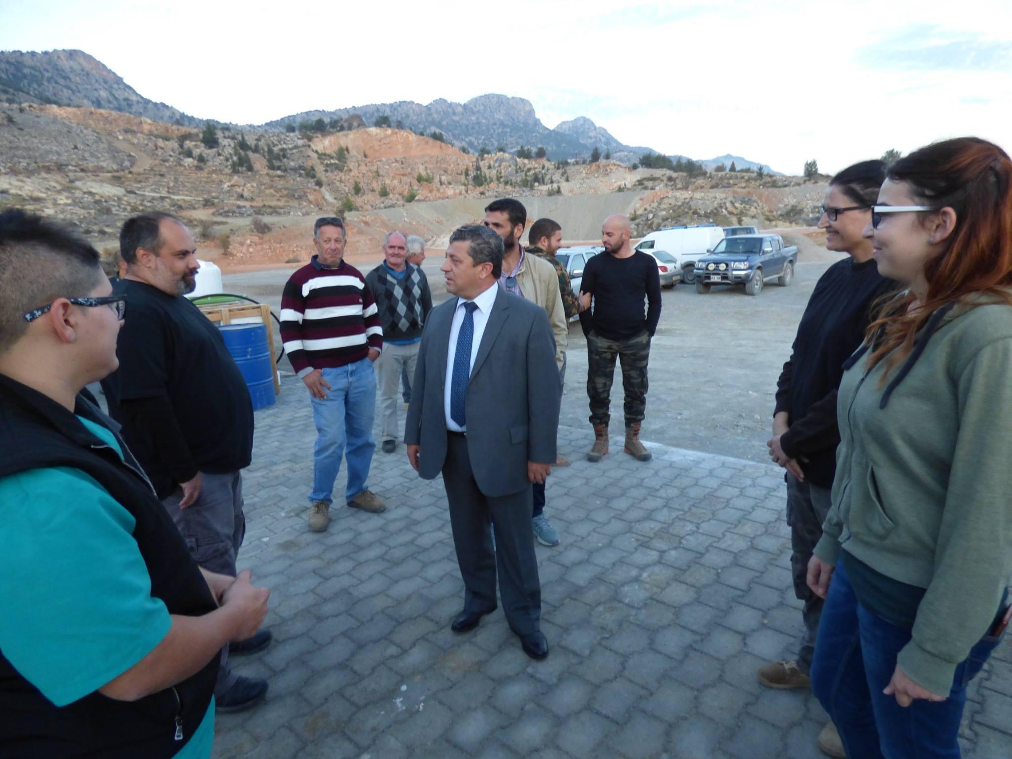 Кемаль Дюрюст посетил заповедник в Ташкенте