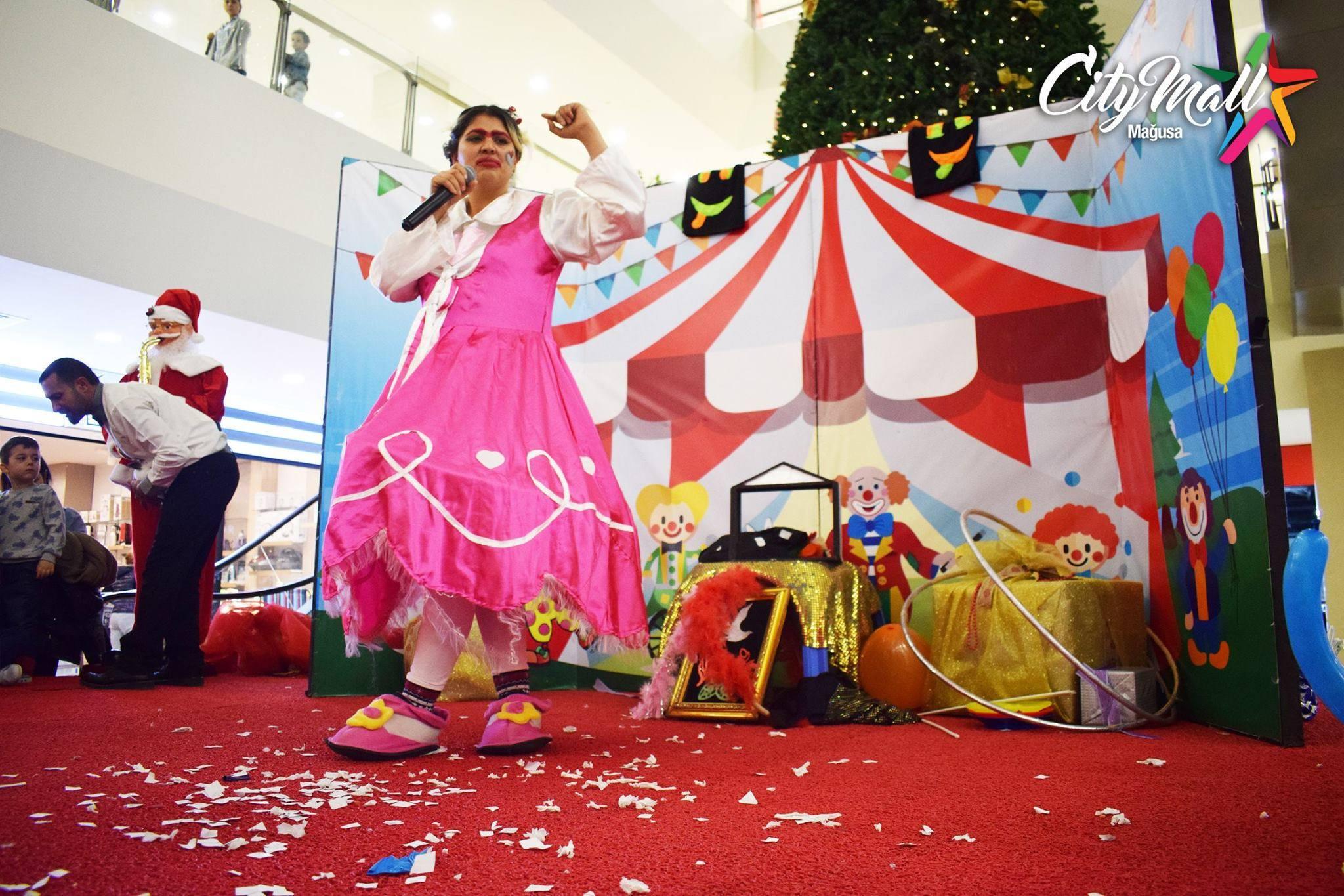 Цирковое представление в Сити Молл