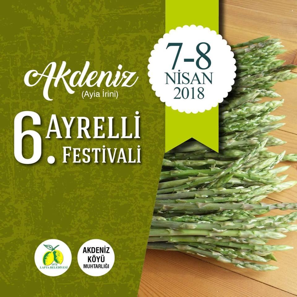 6-й фестиваль дикой спаржи в Акденизе