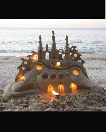 1-й фестиваль замков из песка