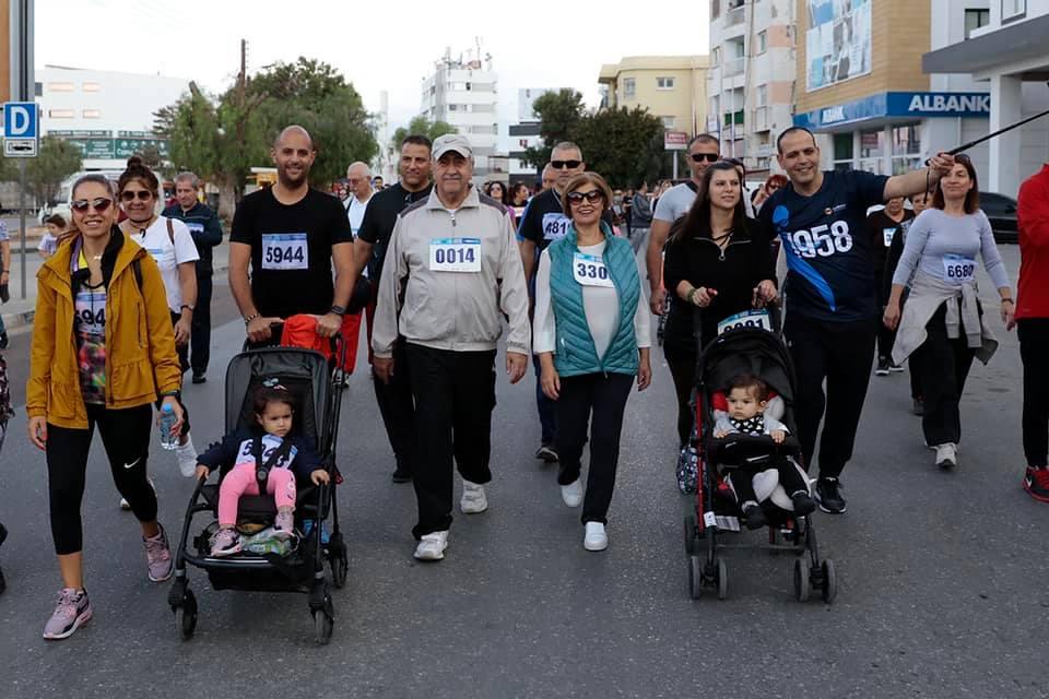 В Лефкоше прошел благотворительный марафон 2018