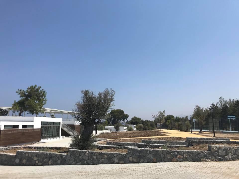 Второй этап строительства парка в Алсанджаке подходит к концу
