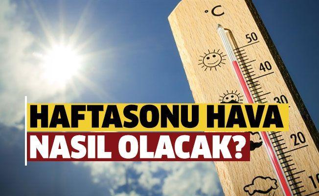 В выходные будет жарко и солнечно!