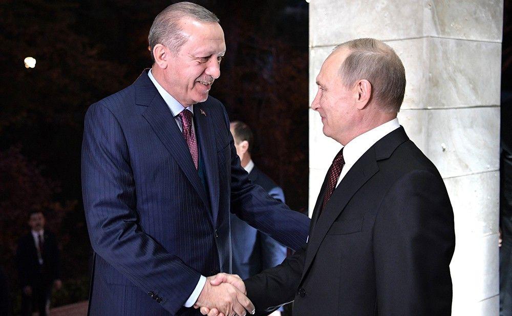 Эрдоган пригласил Путина на заливку первого бетона на строящейся АЭС «Аккую»