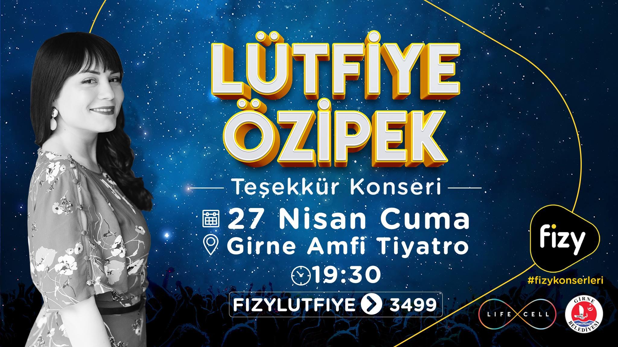 Концерт певицы Lütfiye Özipek
