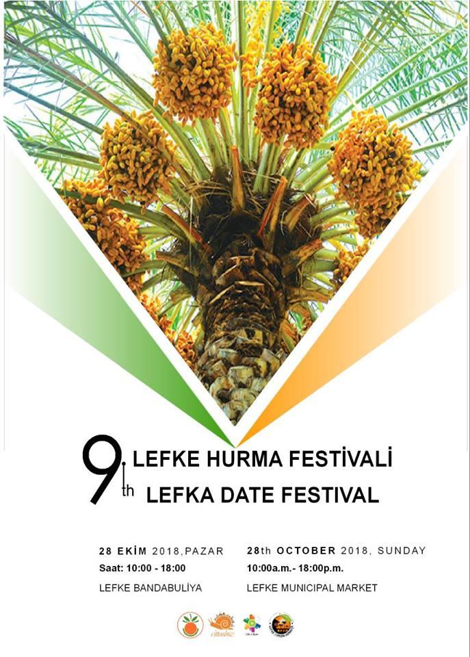9-й фестиваль фиников в Лефке