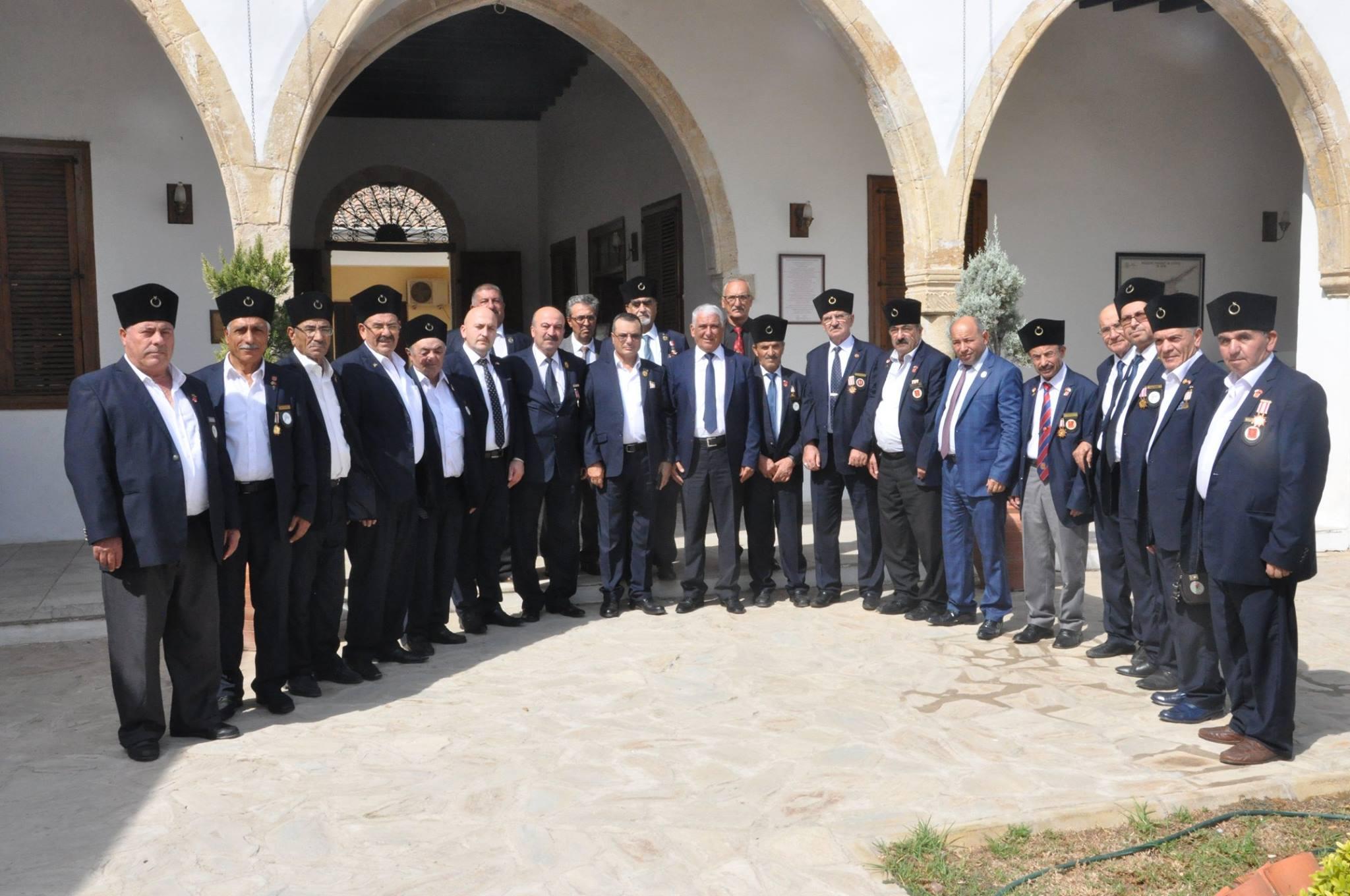 Спустя 44 года ветераны кипрской мирной операции посетили Кипр.