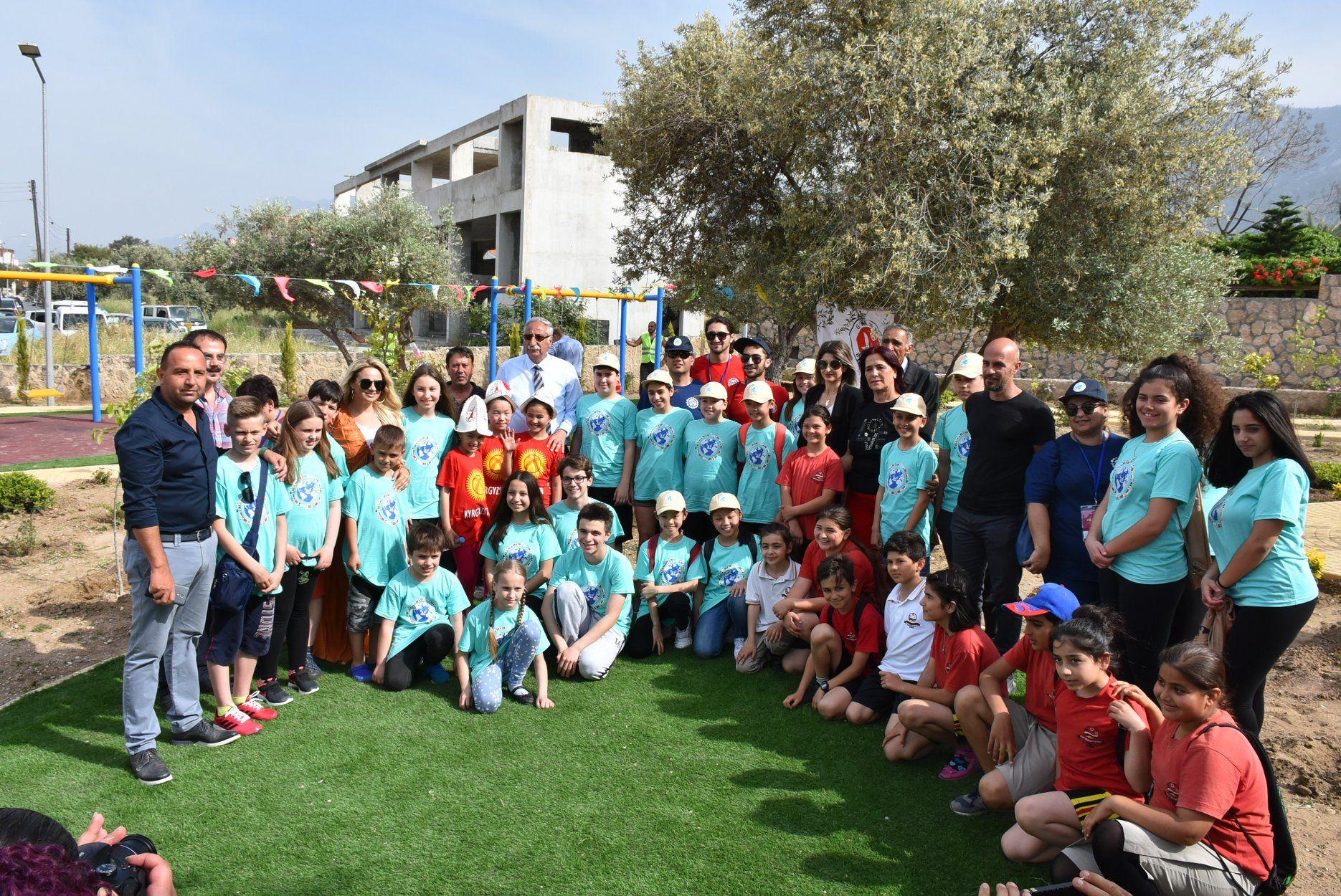 Новые детские площадки в Кирении