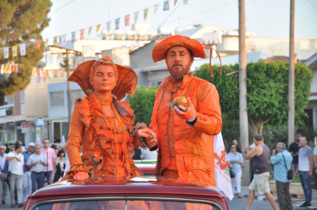 Открытие фестиваля апельсинов в Гюзельюрте