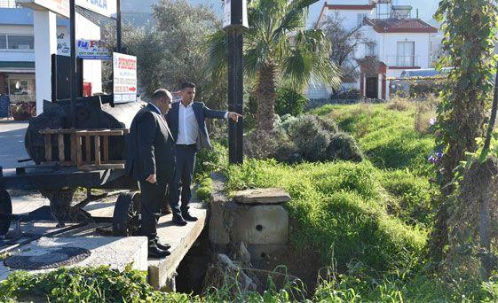 В Алсанджаке полным ходом восстанавливают дороги после наводнения
