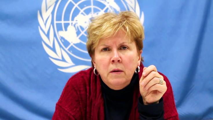 Специальный посланник ООН Джейн Холл Лют приедет на Кипр