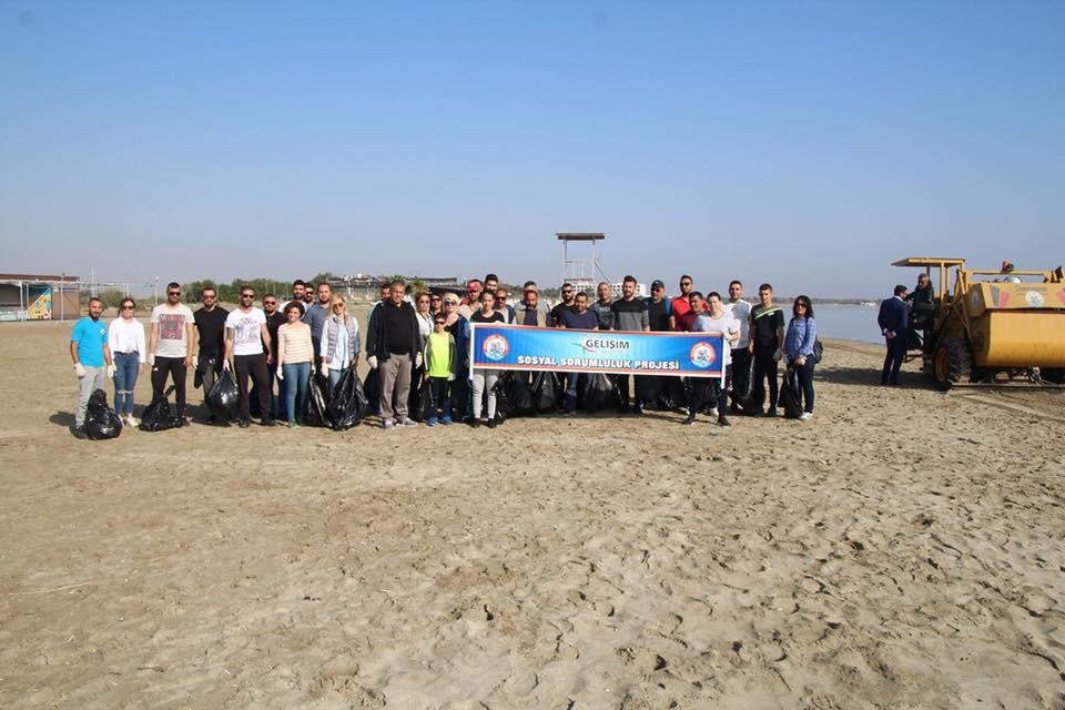 Пляж Фамагусты очищен от мусора