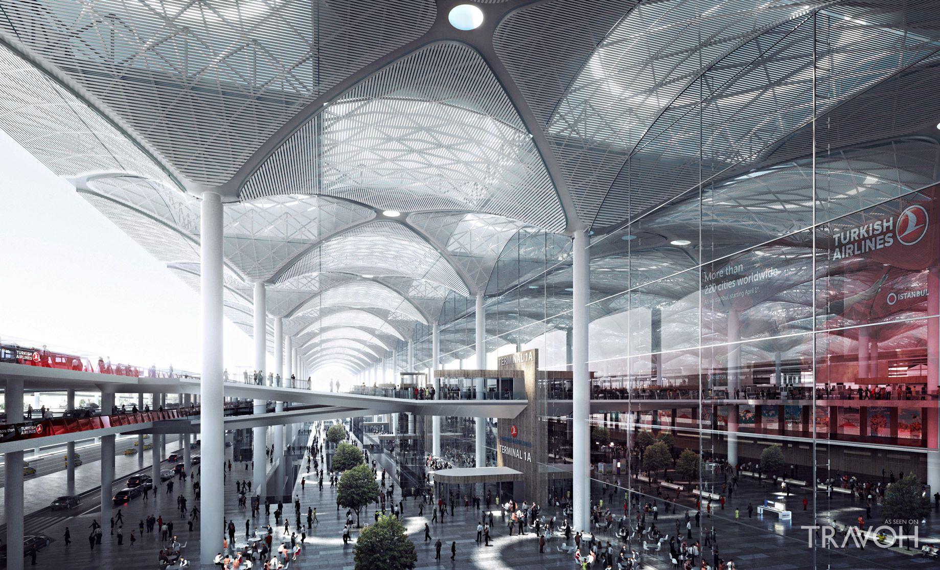 Новый крупнейший аэропорт в Турции скоро начнет свою работу
