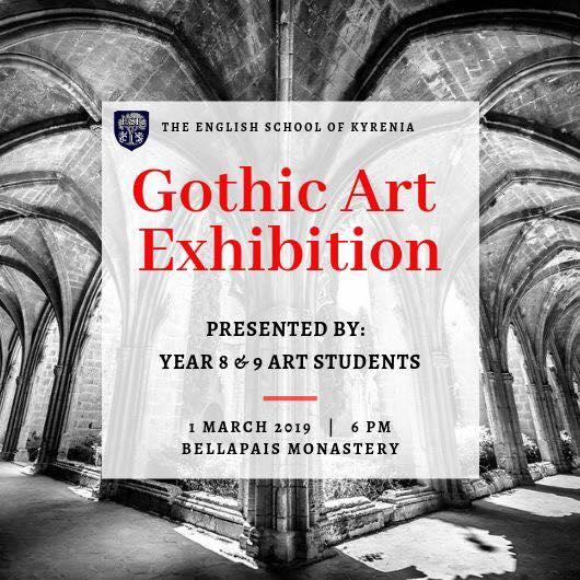 Выставка искусства в Аббатстве Беллапаис