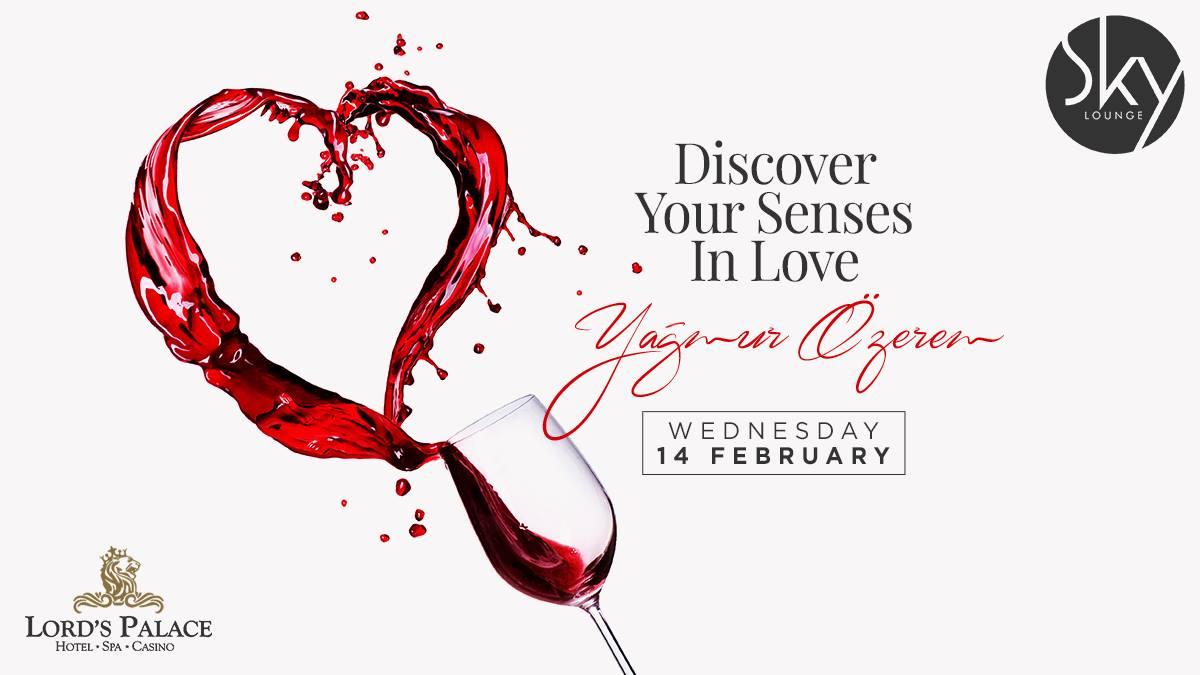 День святого Валентина в Sky Lounge & Bar