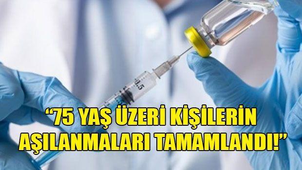 Министерство здравоохранения: продолжается вакцинация людей в возрасте 65-75 лет