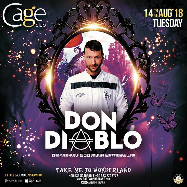 DJ Don Diablo выступит в Cage Club