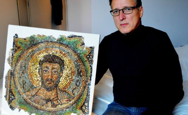 Похищенная мозаика вернулась на Кипр спустя 40 лет