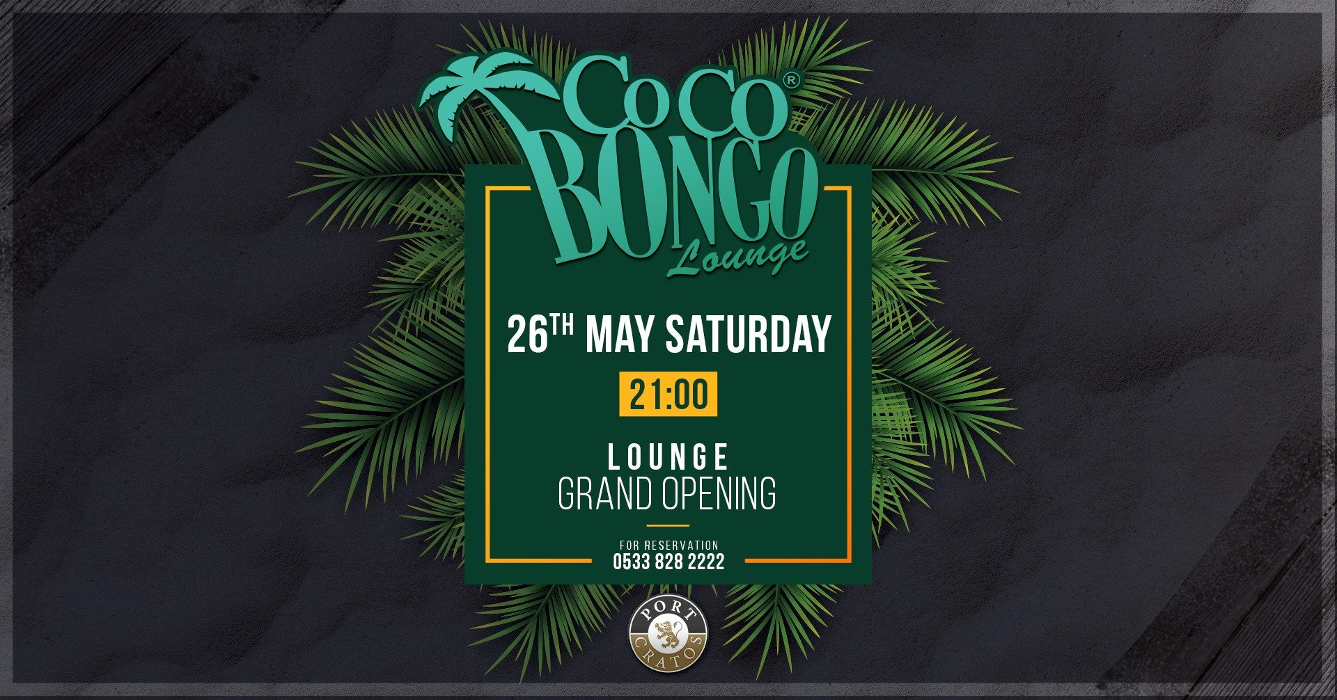 Открытие летней террасы Coco Bongo – Lounge