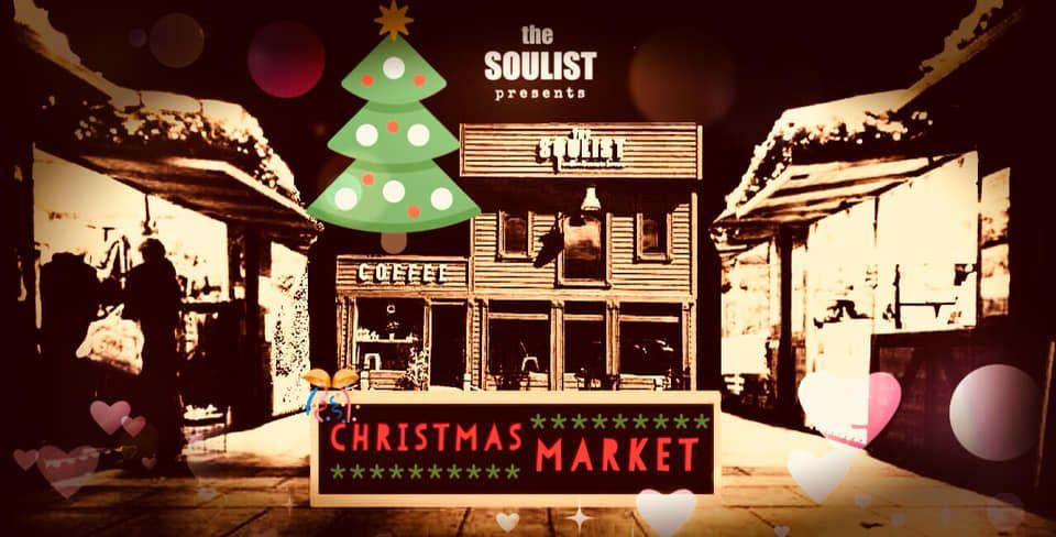 Рождественская ярмарка в The Soulist - Coffee & Music House