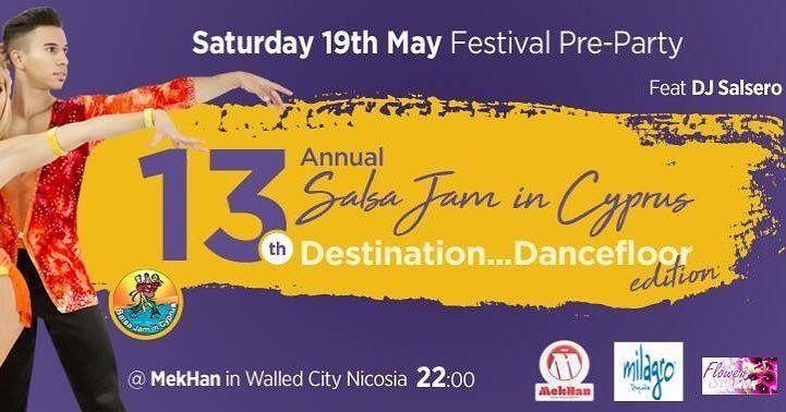 13-й фестиваль Salsa Jam на Кипре