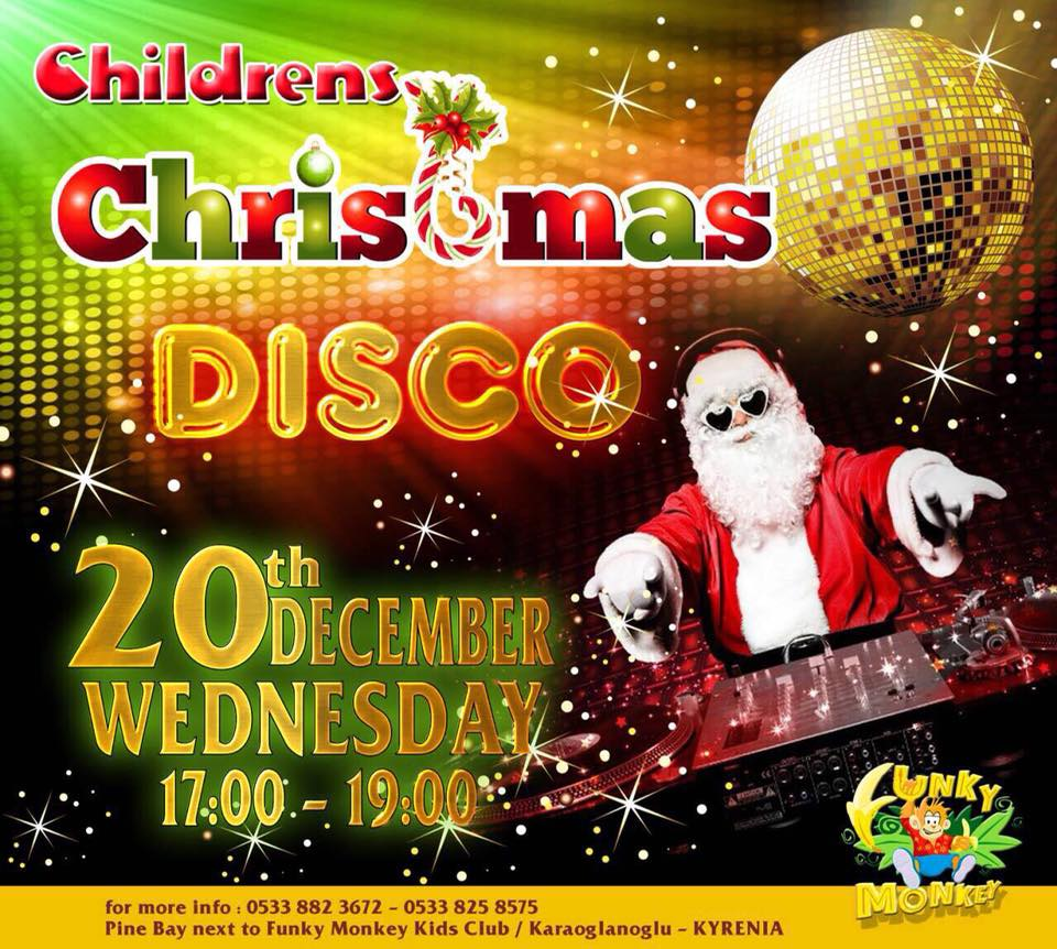 Children's Christmas Disco Party
