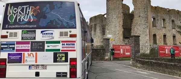 Автобус с волонтерами приедет на Северный Кипр через всю Европу