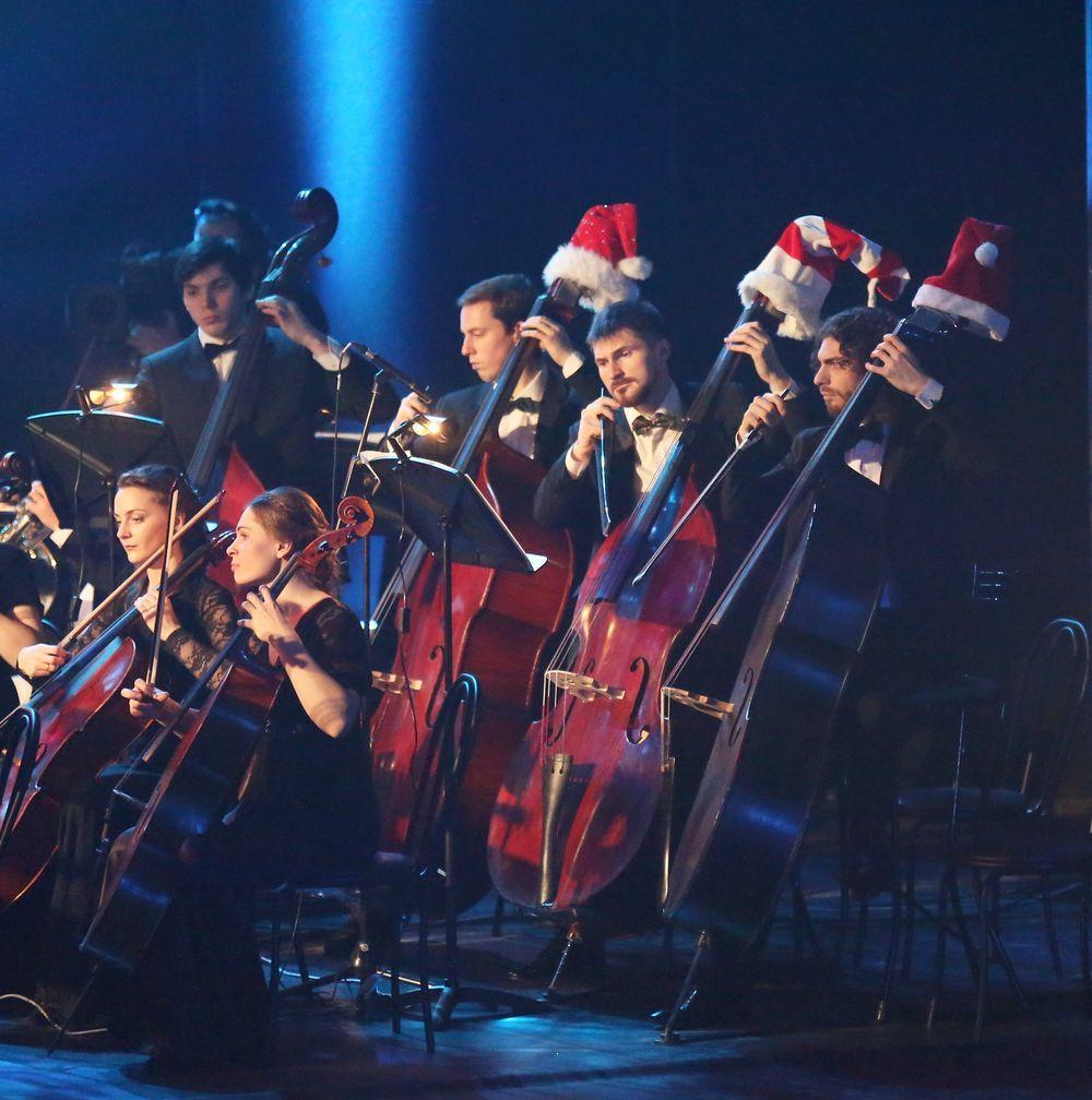 Новогодние концерты живой музыки