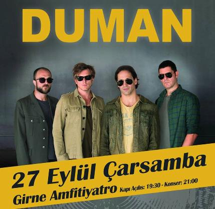 Концерт турецкой группы «DUMAN»