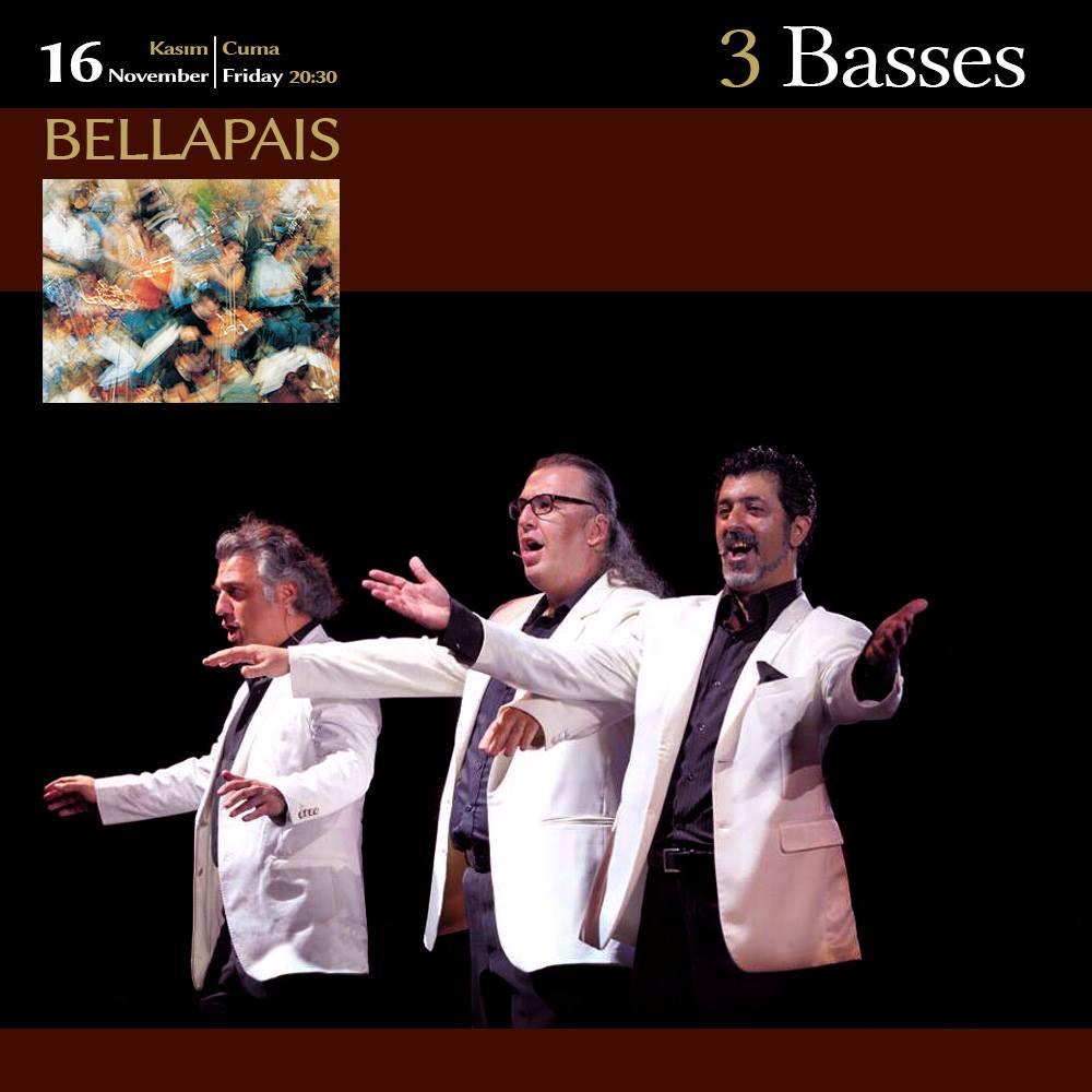 3 Basses в Аббатстве Беллапаис
