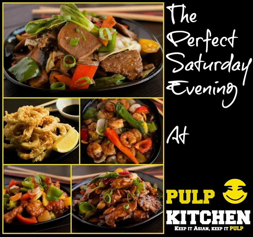 Кафе с азиатской кухней - PULP Kitchen Asian street food