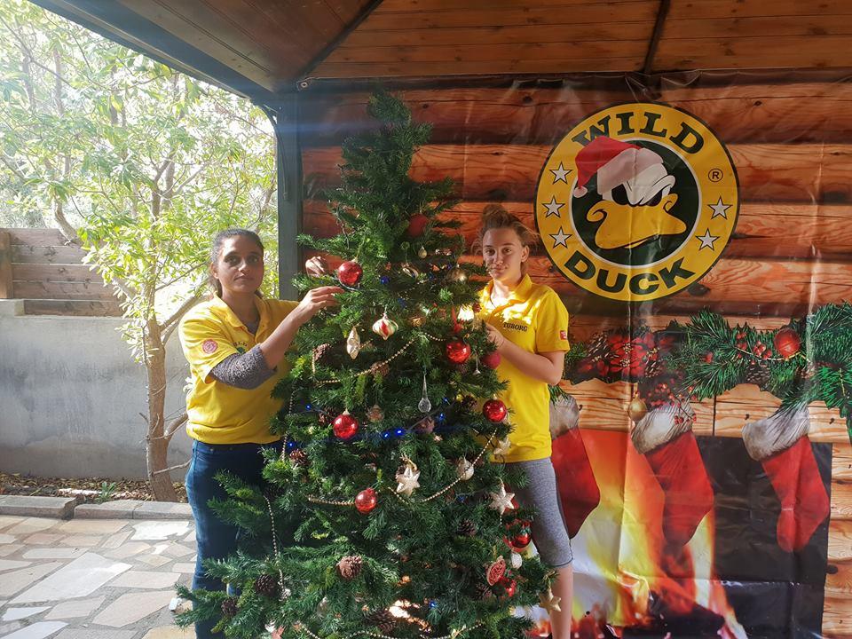 Кафе Wild Duck готовится к рождественской ярмарке