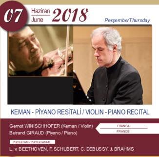 Концерт живой музыки Keman-Piyano Resitali