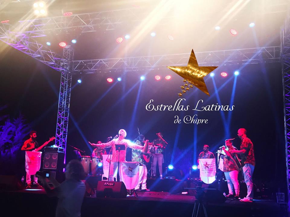 Концерт живой музыки Estrellas Latinas