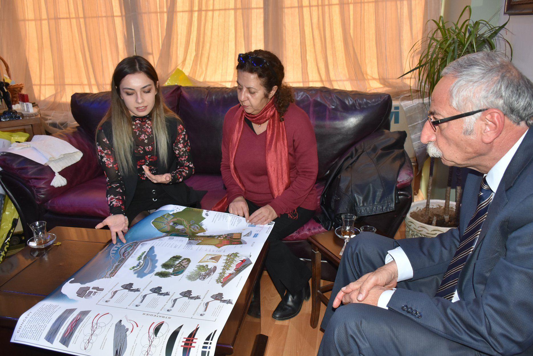 Студенты представили мэру Кирении проект по модернизации города