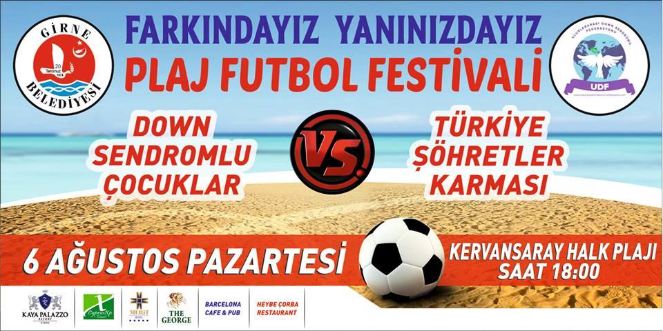 В Кирении пройдет благотворительный фестиваль пляжного футбола