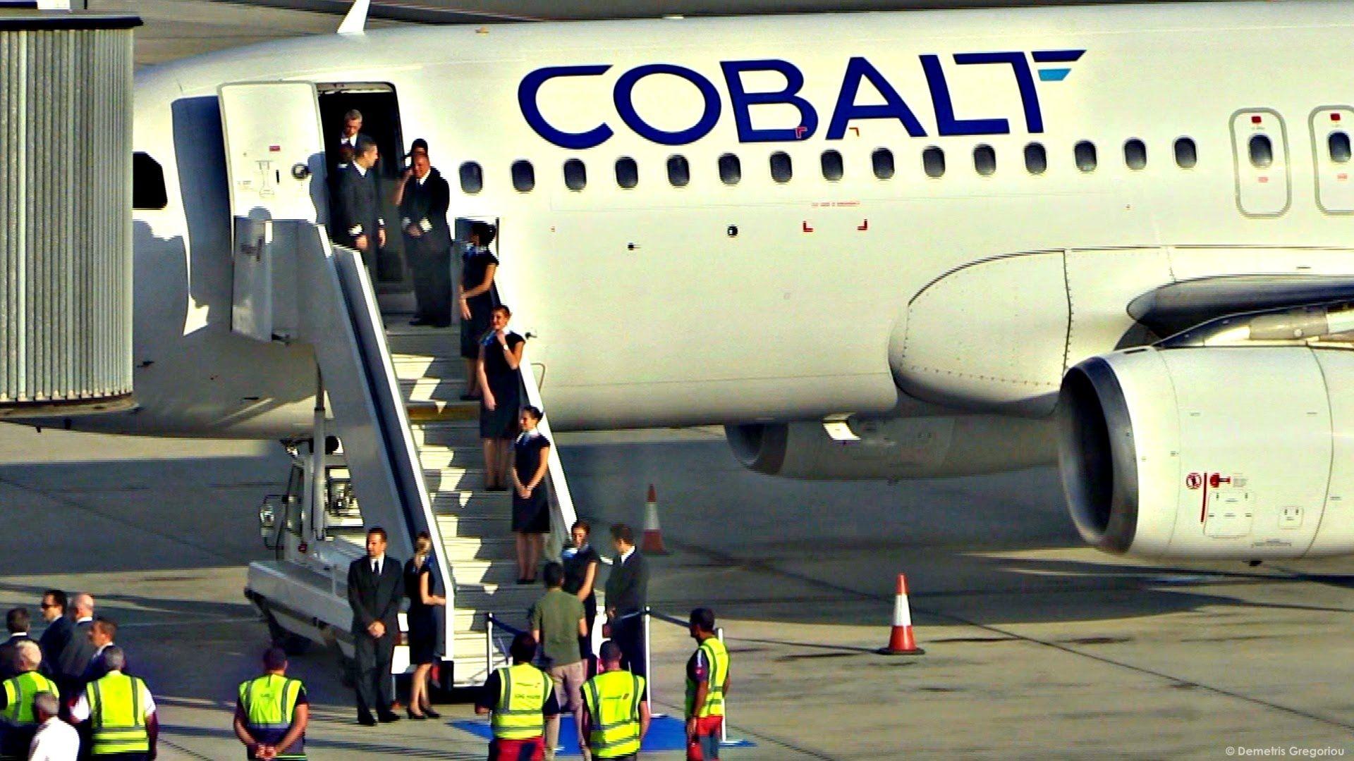 Первый рейс авиакомпании Cobalt Air в Москву