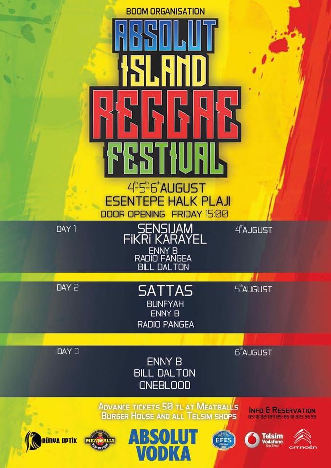 Фестиваль регги на Северном Кипре