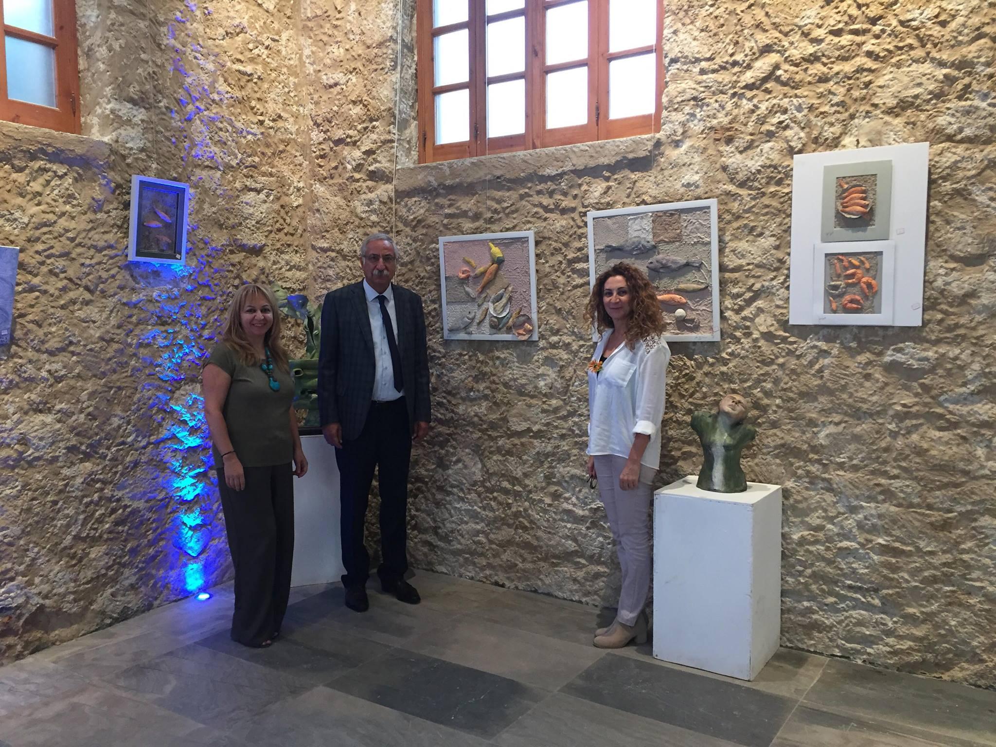Гюнгёрдю посетил выставку «Встреча с нашей мечтой»