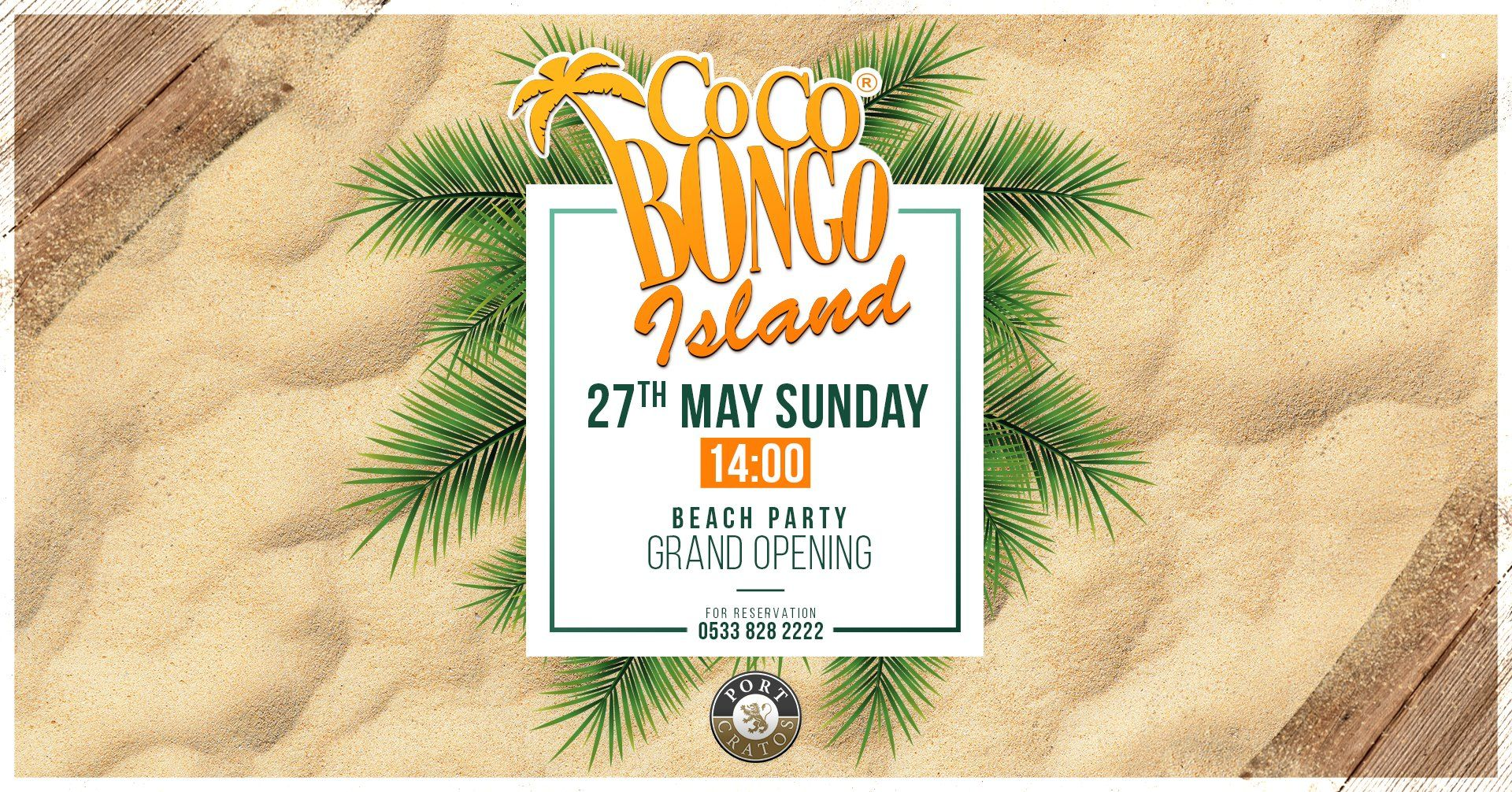 Beach Party Grand Opening - Coco Bongo