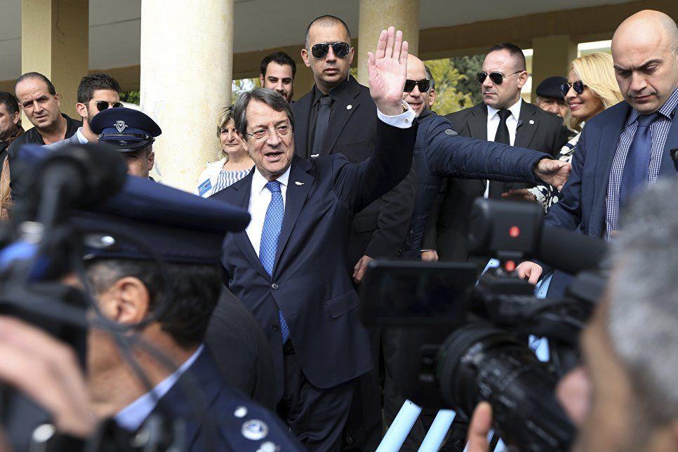 Новый президент Республики Кипр - Никос Анастасиадис