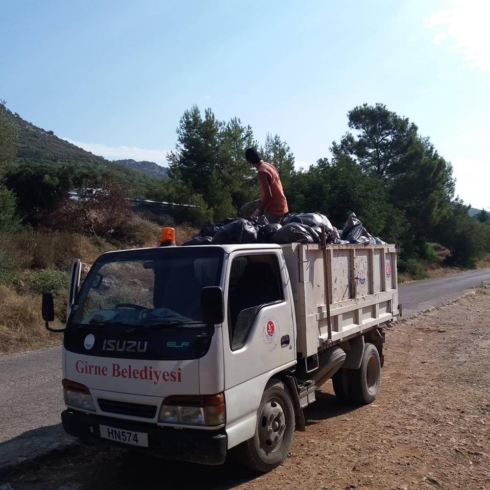 Муниципалитет Кирении борется с мусором