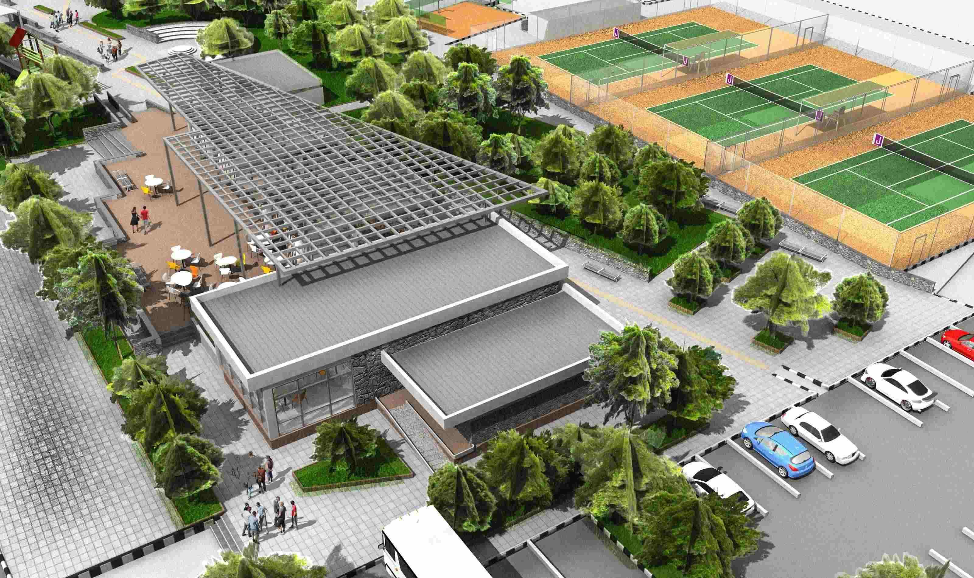 Строительство парка в Алсанджаке продолжается...