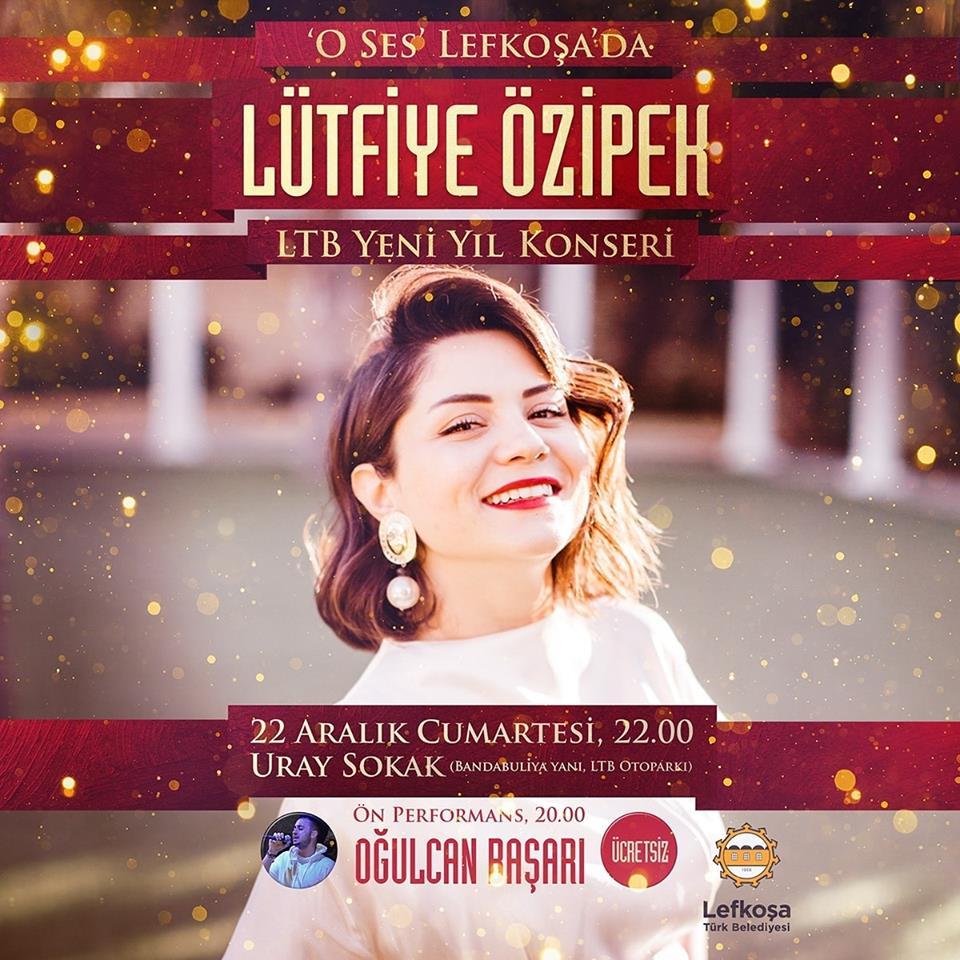 Предновогодний концерт с Lütfiye Özipek