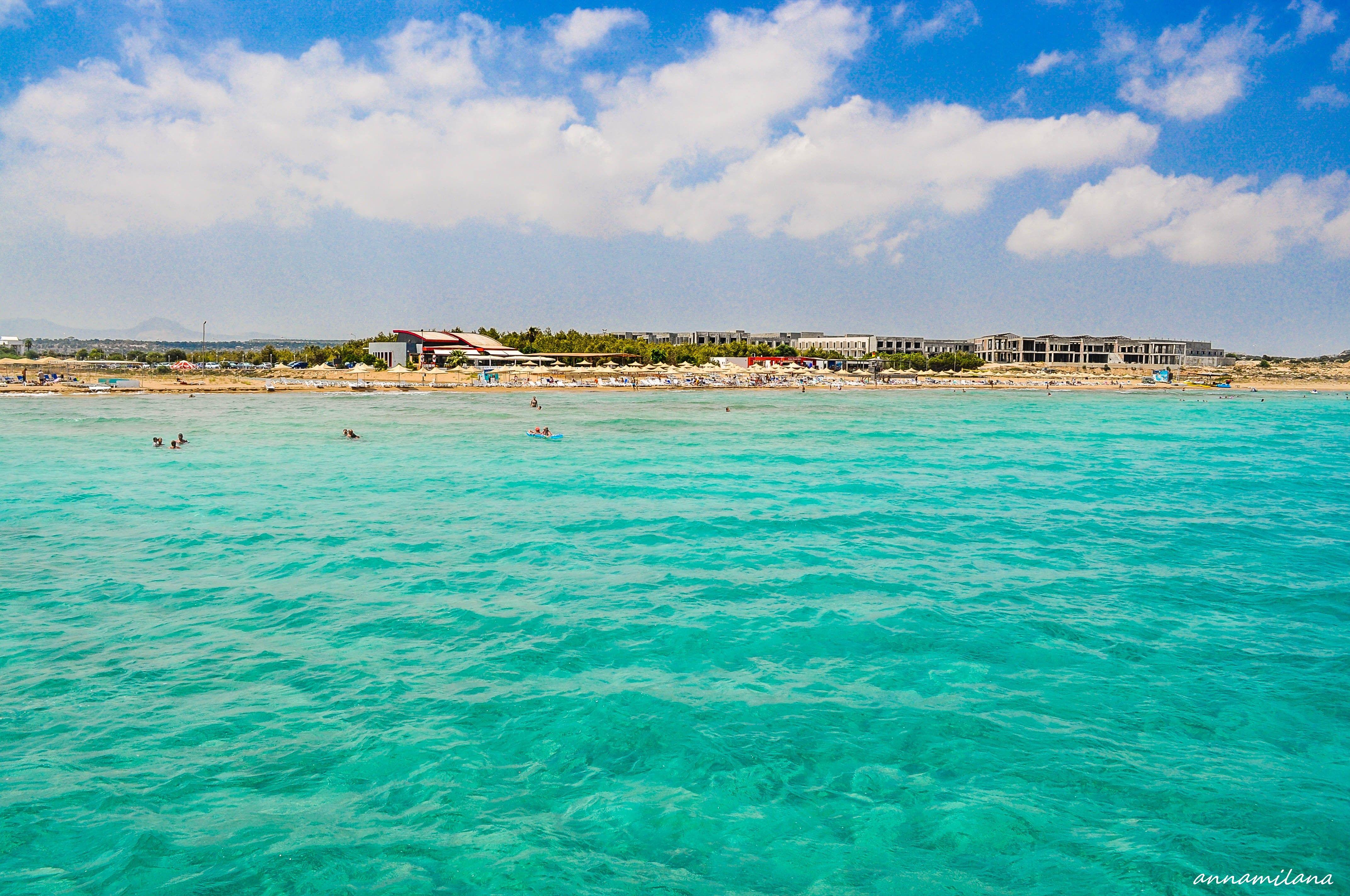 Море Кипра пригодно для купания