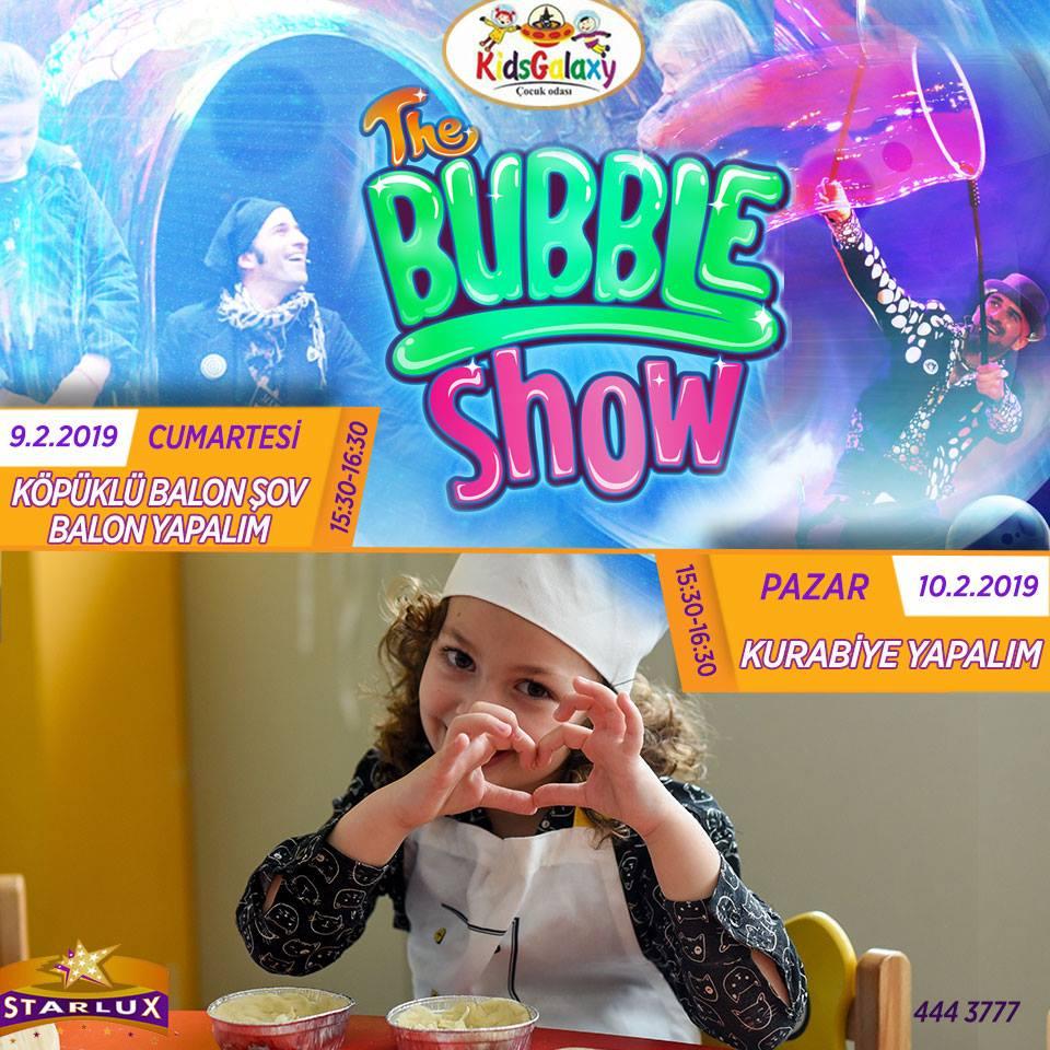 Бабл-шоу в Kids Club Starlux Sinema