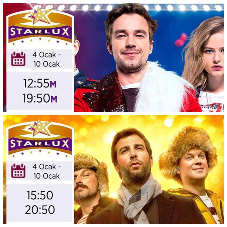 Starlux продлил показ фильмов еще на неделю