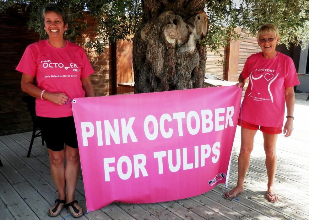 Pink October на Северном Кипре