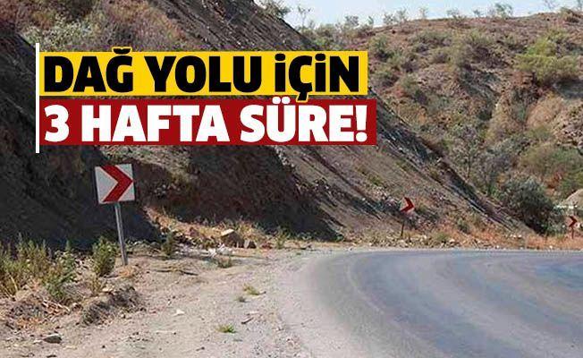 Ограничения на проезд по горной дороге между Лефкошей и Киренией будут действовать 3 недели
