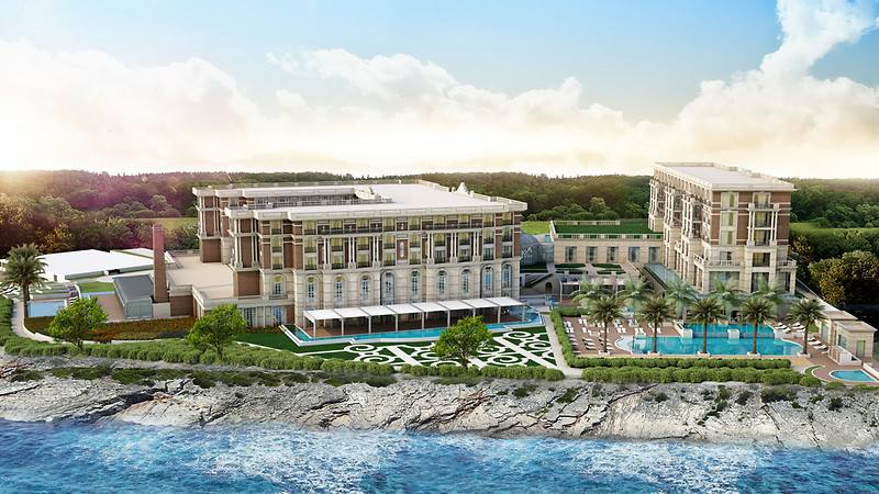"""Новый отель в Кирении """"Kaya Palazzo"""""""